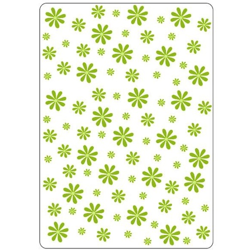 Crafts-Too Embossing Folder Daisies 4.25x5.5
