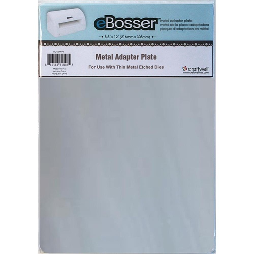 eBosser Cut'n'Boss Metal Adapter Plate 8.5X12