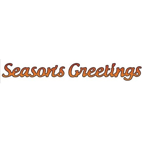 Elizabeth Craft Designs Dies Season's Greetings