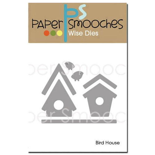 Paper Smooches Die Bird House