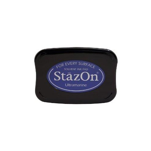 StazOn Ink Pad Ultramarine