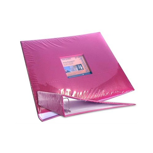 12x12 Ring Binder Scrapbooking Photo Album Hot Pink