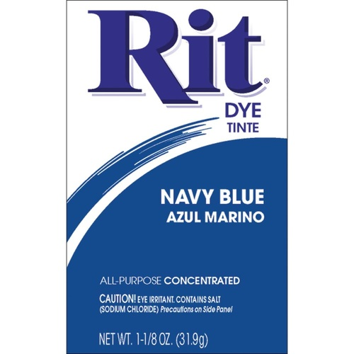 Rit Dye Powder Navy Blue
