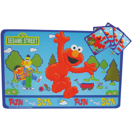Sesame Street Elmo 4 Placemats & 4 Coasters
