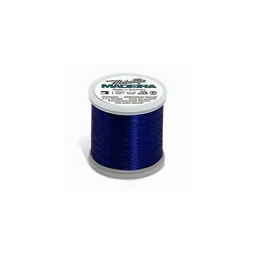 Madeira metallic machine embroidery thread no royal