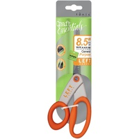 Tonic Studios Kushgrip General Purpose Scissors 8.5 Inches Left Handed