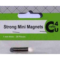 Crafts4U Mini Magnets 5mm 20pk
