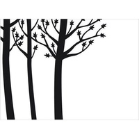 DARICE Embossing Folder Tree Trunks 10.5cm x 14.5cm