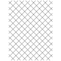 DARICE Embossing Folder Wire Fence 10.5cm x 14.5cm