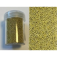 Caviar Beads Micro Beads 1mm GOLD
