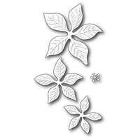 Poppystamps Die Holiday Poinsettia 1570