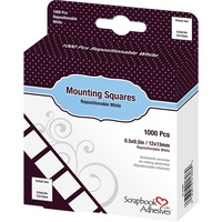 3L Scrapbook Adhesives Repositionable Mounting Squares 1000/Pkg