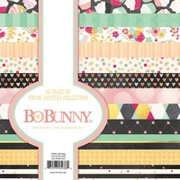 Bo Bunny 6x6 Inch Paper Pad YOU'RE INVITED