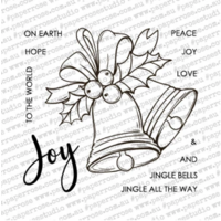 Paper Rose Clear Stamp Set Christmas Bells 18339