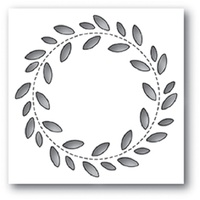 Poppystamps Die Stitch Wreath 2046