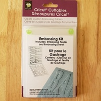CUTTLEBUG Embossing Folder Kit - Make Your Own Design