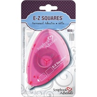 EZ Squares Scrapbook Adhesives by 3L Permanent Tabs 650 X 12mm X 8mm