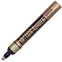 Sakura Pen Touch Paint Marker 2mm Medium Gold 41501