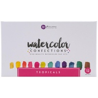 Prima Watercolour Confections Watercolour Pans Tropical 12pk