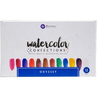 Prima Watercolour Confections Watercolour Pans Odyssey 12pk