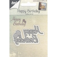 Joy Crafts Dies Happy Birthday 6002/0667