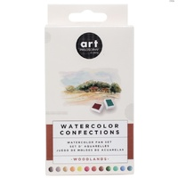 Prima Watercolour Confections Watercolour Pans Woodlands 12pk