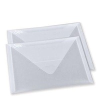 Sizzix Accessory Plastic Envelopes 6 1/4 x 9