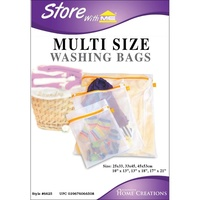 Innovative Home Creations Mesh Wash Bags Multi Sized x3