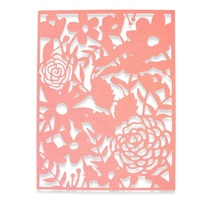 Sizzix Thinlits Die Country Rose 662860