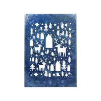Sizzix Tim Holtz Thinlits Die Set Nordic Winter 664199