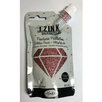 Izink Diamond Glitter Paint 80ml Rose Poudre (Powder Pink)