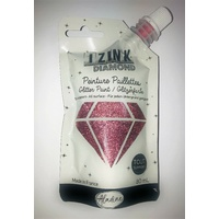 Izink Diamond Glitter Paint 80ml Rose Pastel