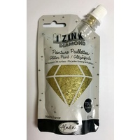 Izink Diamond Glitter Paint 80ml Dore (Gold)