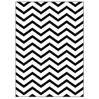 Crafts4U Embossing Folder 5x7 ZigZag Background