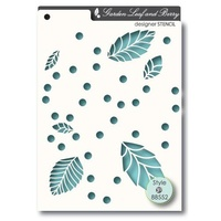 Memory Box Stencil Leaf and Berry 88552