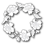 Memory Box Die Bloomington Wreath 99006