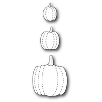 Memory Box Die Stitched Pumpkins 99198