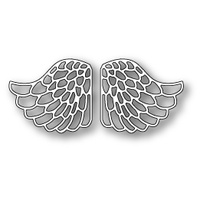 Memory Box Die Lacy Angel Wings 99228