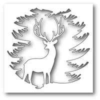 Memory Box Die Evergreen Reindeer 99787