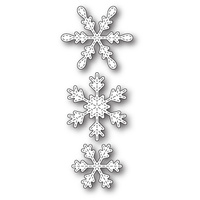 Memory Box Die Stitched Piccolo Snowflakes 99836