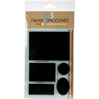 Paper Smooches Stamps Mirror Blocks