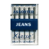 Klasse Jeans Assorted Sewing Needles Sizes 90, 100