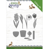 Amy Design Dies Spring Botanical Bulbs and Flowers