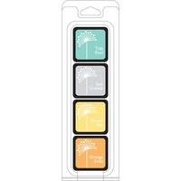 Hero Arts Shadow Dye Ink Cubes 4 colours Summer Splash