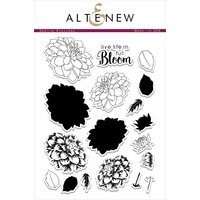 Altenew Dahlia Blossoms Stamp Set ALT1033