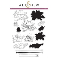 Altenew Lotus Stamp Set ALT1035