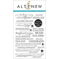 Altenew Sentiments and Quotes Stamp Set ALT1086