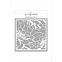 Altenew Layered Dahlia Stencil A ALT1731