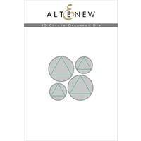 Altenew 3D Circle Ornament Die Set ALT1896