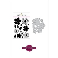 Altenew Build-A-Flower Peony Blossom Layering Die and Stamp Bundle